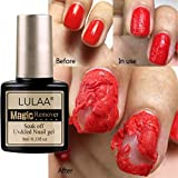 Nail Clipper, Magic Nail Polish Makeup Remover 8Ml Removes Gel Oil Quickly and Easily, Nail Gel Water Burst...