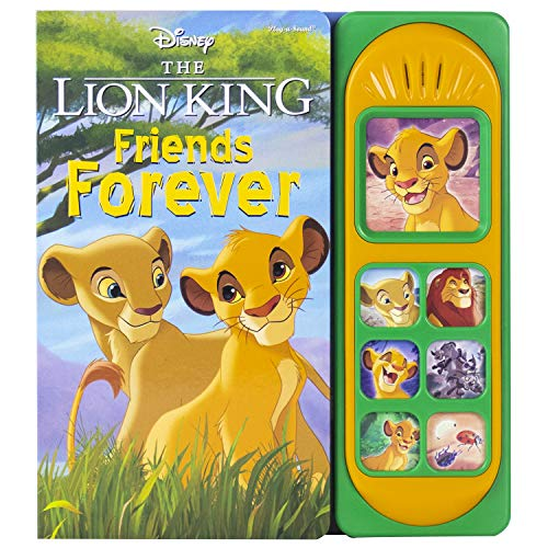 Compare Textbook Prices for Disney - The Lion King - Friends Forever Little Sound Book - PI Kids  ISBN 9781503743564 by Editors of Phoenix International Publications,Editors of Phoenix International Publications,Editors of Phoenix International Publications,Editors of Phoenix International Publications