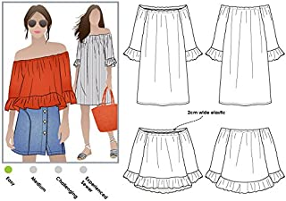 Style Arc Sewing Pattern - Ellie-Mae Tunic Top (Sizes 04-16) - Click for Other Sizes Available