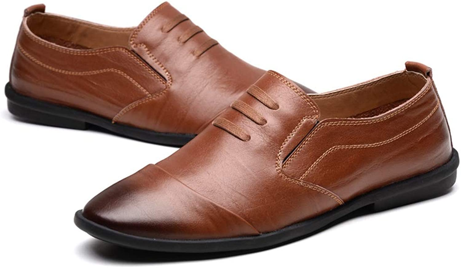 Mans Driving Loafers Casual Classic Retro Rub Färg Soft and Convenent Boat Mocasins (färg  bspringaaa, Storlek  7.5 D (M) US)