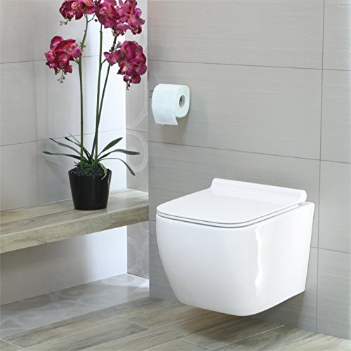 LAVITA KERAMIK HÄNGE-WC-TOILETTE #99870 SPÜLRANDLOS + SOFT-CLOSE SLIM - 5
