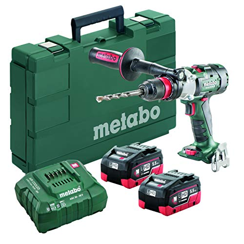 Metabo - 18V Brushless 3-Speed Hammer Drill/Driver Kit 2X 5.5Ah Lihd (602357620 18 LTX-3 BL Q I 5Hammer Drill/Driver