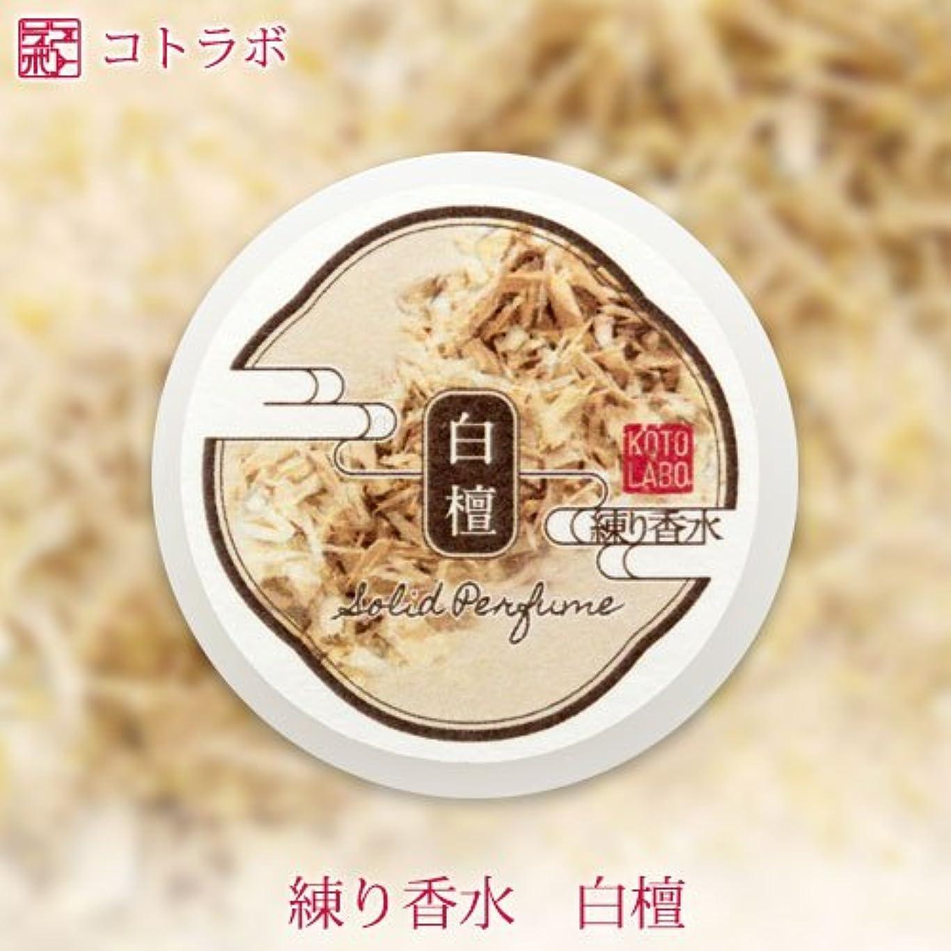 コンピューターを使用するパースジム金箔透明練り香水 白檀の香り ソリッドパフューム Kotolabo solid perfume, Sandalwood