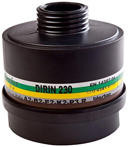 sekur 4000370808,KAYSER GmbH Kombifilter Dirin 230 A2 B2 E 2K2-P3 gegen anorganische Gase z.B.D¿mpfe