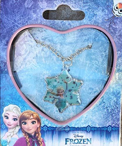 Disney-Frozen WDFR018 - Collana, motivo: Frozen