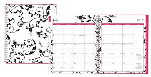 """Blue Sky 2017-2018 Academic Year Monthly Planner, Twin-Wire Bound, 8"""" x 10"""", Analeis Photo #2"""