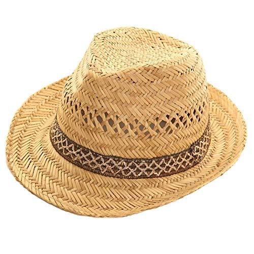 viz-uk wear Unisex Sommerhut aus 100 % Stroh, 59 cm