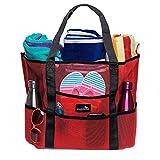 Dejaroo Mesh Beach Bag – Toy Tote Bag – Large Lightweight...
