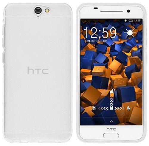 mumbi Hülle kompatibel mit HTC One A9 Handy Case Handyhülle, transparent Weiss