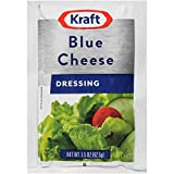 Kraft Blue Cheese Salad Dressing Single Serve Packet (1.5 oz Packets, Pack of 60)