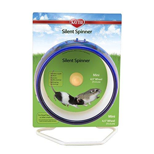 Interpet 861412 Superpet Silent Spinner flüsterleises Laufrad, mini, 4.5 Zoll (Farblich sortiert)