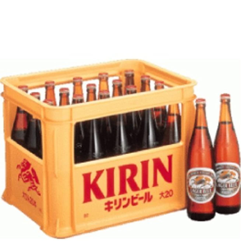 偽コーラス遺体安置所ラガー 大瓶 633ml /キリン(6ケース)
