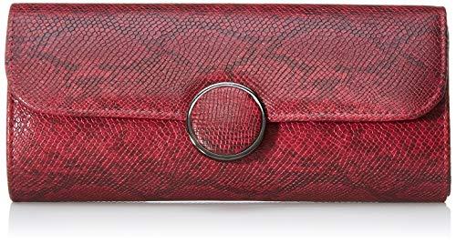 Bulaggi Phoebe Clutch - Pochette da giorno Donna, Rosso (Wein Rot), 02x11x24 cm (B x H T)
