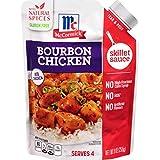 McCormick Gluten Free Bourbon Chicken Skillet Sauce, 9 fl oz Pack of 6