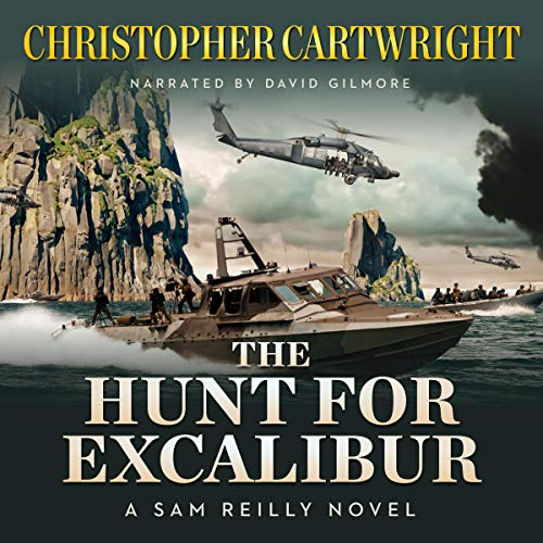 The Hunt for Excalibur  audiobook cover art
