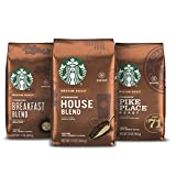 Starbucks Medium Roast Ground Coffee - Variety Pack - 100% Arabica - 3 Bags (12 Oz. Each)