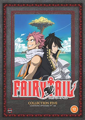 Fairy Tail Collection 5 (Episodes 97-120) - DVD [NTSC]