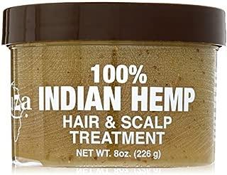 KUZA Indian Hemp Hair and Scalp Treatment, 8 oz by Kuza