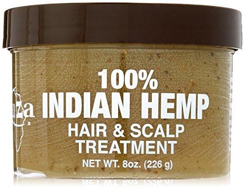 Kuza Indian Hemp Hair & Scalp Treatment - 8 Oz [Personal Care] by Kuza