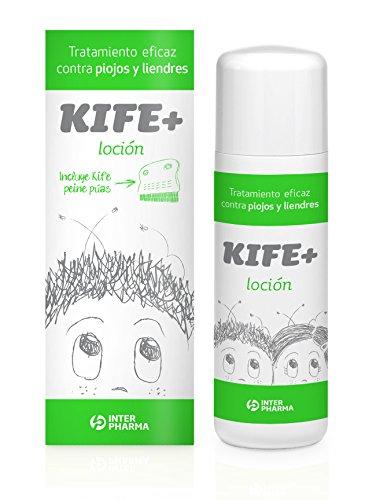 Kife+ 50 – Loción antipiojos infantil con extractos naturales de citronella, 100...