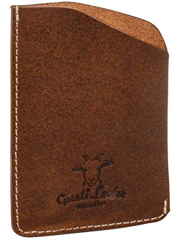 Gusti Cuero studio'Marion' Portatarjetas de Cuero Auténtico Billetes Tarjetero Cartera de Piel Estilo Vintage Identificación 2A125-33-1
