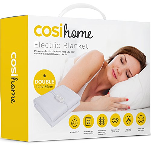 Premium Comfort Double Electric ...