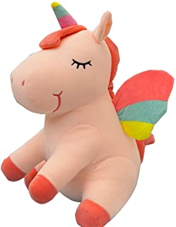 Unicorn Stuffed Animal Plush Unicorn Toy Gifts for Girls Toy Doll Children Toys Baby Cuddle Toys Birthday Gifts White