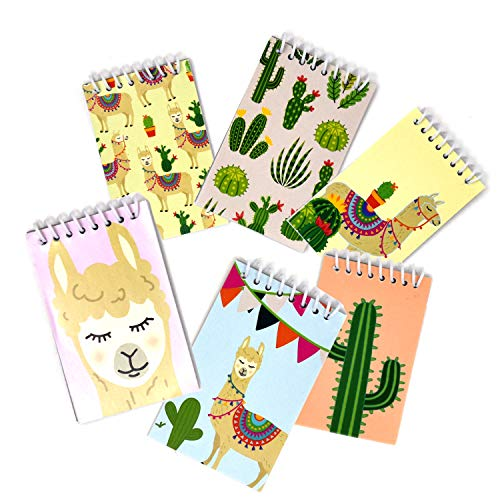 Llama and cactus notebooks for elementary school store