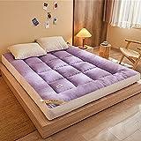 Colchón De Futón Grueso Plegable, Colchón Tradicional Japonés, Colchoneta De Tatami Mullida Acolchada Para Dormir,...