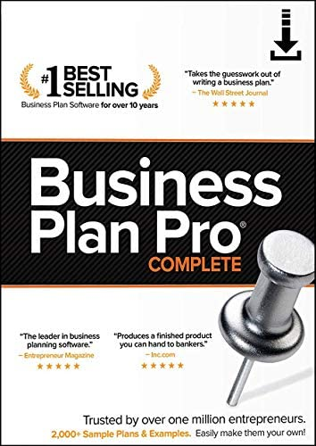 Business Plan Pro Complete PC Online code product image