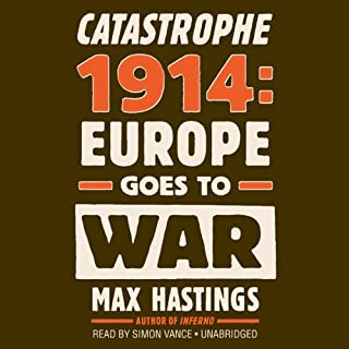Catastrophe 1914 cover art