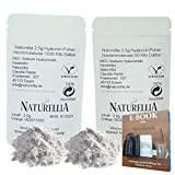 Naturellia Acido Hialuronico 2,5 Gramos 50 k-Dalton Bajo Peso + 2,5 Gramos 1500 k-Dalton Alto Peso...