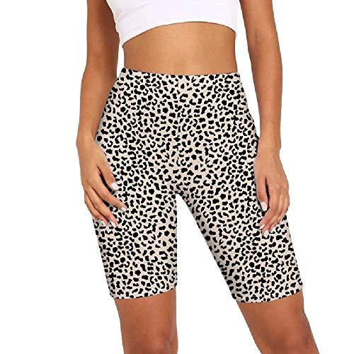 N\P Señoras Casual Pantalones Cortos de Verano de las Señoras Casual Corto de Cintura Alta Ropa Deportiva Ropa