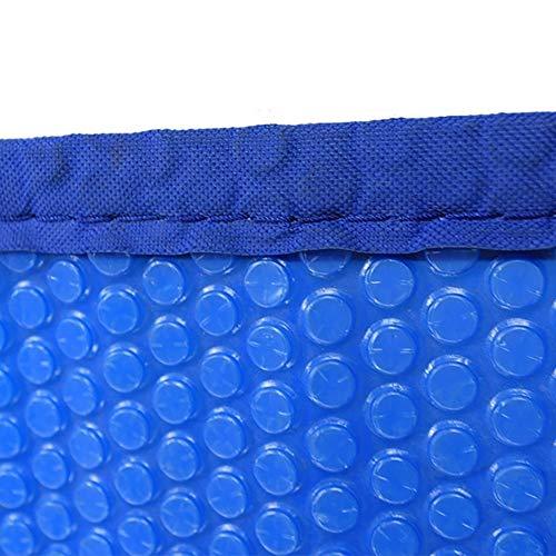 ZCJB Bâches pour Piscine Bâche Blue Bubble, Rectangulaire Couverture de Piscine de Chauffage Solaire avec Edge Punching, pour Piscine Et Bain À Remous (Size : 1.5m×3m(5ft×10ft))