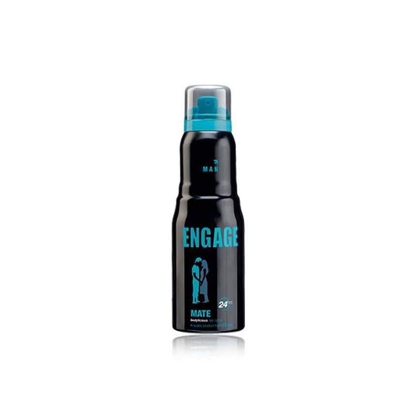 無謀ようこそ体系的にEngage Mate Deodorant For Men, 150ml / 165ml (Weight May Vary)
