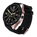 """Le Pan Pro Smart Watch, 1.39"""" AMOLED Round HD Display Quad Core 2.0MP Camera Bluetooth GPS WiFi App Download Heart Rate Monitor MSG Notification Built-in Speaker Microphone USB Charging"""