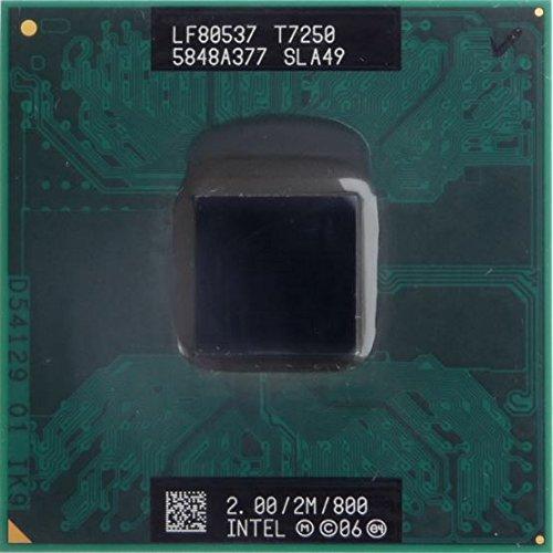 Intel Core T7250 Prozessor 2 GHz 2 MB L2 - Prozessoren (Intel® Core™2 Duo, 2 GHz, Buchse 479, Notebook, 65 nm, T7250)