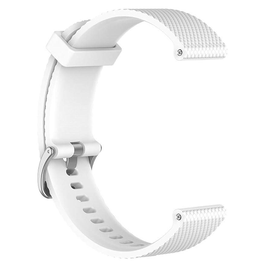 チャレンジすずめ切り刻むスポーツウォッチバンド Huawei Watch GT Honor Magic用 - 白