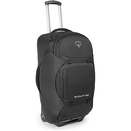 Osprey Sojourn 80, Wheeled Travel Pack Unisex – Adulto, Flash Black, O/S