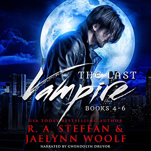 The Last Vampire: Books 4-6 cover art