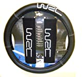 WRC Sterring Wheel Cover + 2 Seatbelt Protectors Kit