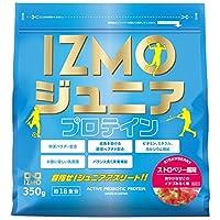 アルプロン IZMO イズモ ジュニアプロテイン ストロベリー風味 350g 生きた乳酸菌BC-30配合(国内生産)