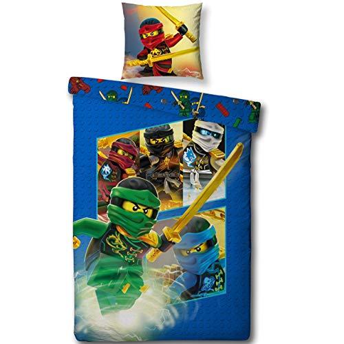 Lego NINJAGO Kinderbettwäsche