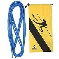 Dagtear スタティックロープ、高品質の屋外スタティックロープ登山ダウンヒル安全ロープアクセサリー