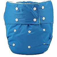 Cubierta de pañales para adultos reutilizable lavable y ajustable para personas con discapacidad incontinencia