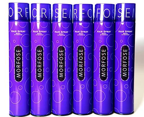 Morfose Haarspray Mega Strong 6 x 400ml