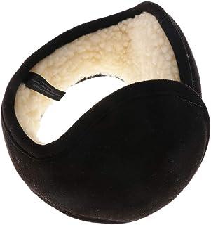 Dolity Unisex Foldable Winter Ear Muffs Warmers Sherpa Earflap Wrap