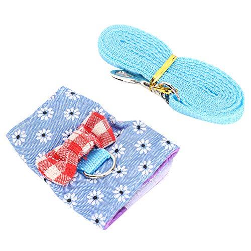 Redxiao Cat Chest Strap, Pet Leash, leicht zu reinigende Pet Supplies für Bunny Hamster Guine(M)