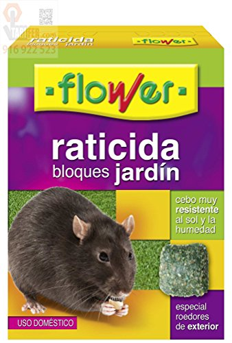 Flower 20512 20512-Raticida, No Aplica, 10.3x3.7x14.5 cm