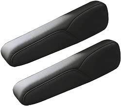 DKIIGAME Black Leather Armrest Arm Rest Cover Upholstery for Honda CR-V 07 08 09 4-Door